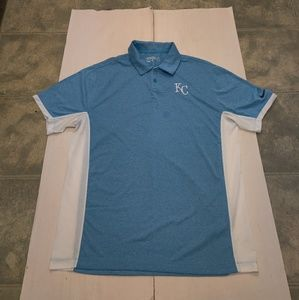 KC Royals Nike Tour Performance Golf Polo